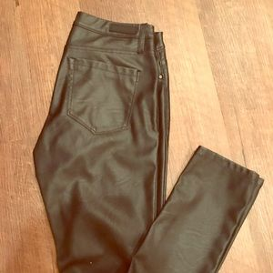 Blank NYC Pleather Skinny pants. Size 27.